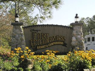 Disney Fort Wilderness Campsite